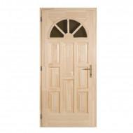Egyszárnyú fa bejárati ajtó