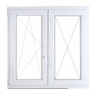 Fix+bukónyíló műanyag ablak