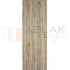 Csomóstölgy dekorfóliás tele beltéri ajtó (Blokktokos)