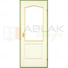 Dusa lemezelt beltéri ajtó üvegezhető (Gerébtokos)