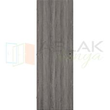 Szürke Tölgy dekorfóliás tele beltéri ajtó (Blokktokos)