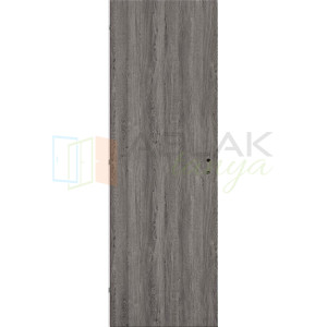 Szürke Tölgy dekorfóliás tele beltéri ajtó (Blokktokos) - Beltéri ajtó
