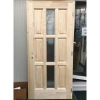 Lucfenyő fa bejárati ajtó