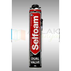 Selsil Selfoam Dual Valve Purhab 750ml - Purhab