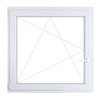 60x90 műanyag ablak, egyszárnyú, bukó/nyíló