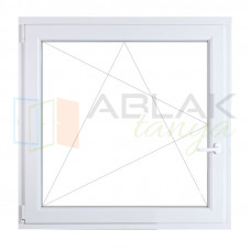 40x60 műanyag ablak, egyszárnyú, nyíló