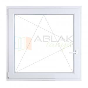 150x150 műanyag ablak, egyszárnyú, bukó/nyíló - Egyszárnyú műanyag ablak