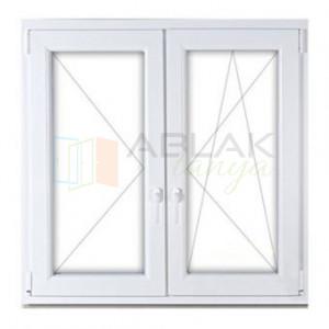 Műanyag erkélyajtó 150x210 nyíló-bukó/nyíló - Erkély ajtó