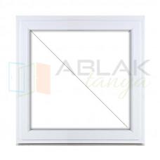 Fix műanyag ablak 90x90