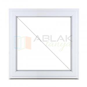 Fix műanyag ablak 180x150 függőleges osztással - Fix műanyag ablak