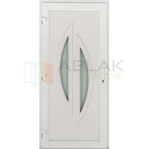 Léna műanyag bejárati ajtó - Egyszárnyú műanyag bejárati ajtó