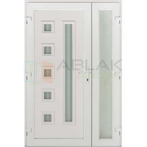 Max kétszárnyas műanyag bejárati ajtó - Kétszárnyú műanyag bejárati ajtó