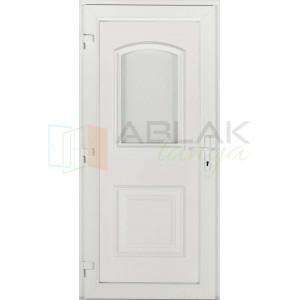 Odera nagy üveges műanyag bejárati ajtó - Egyszárnyú műanyag bejárati ajtó
