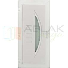Opál műanyag bejárati ajtó