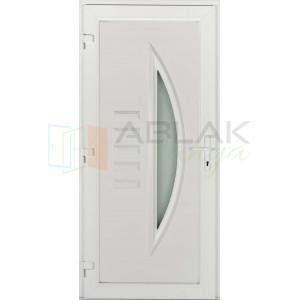 Opál műanyag bejárati ajtó - Egyszárnyú műanyag bejárati ajtó