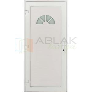 Salamanca 1 üveges műanyag bejárati ajtó - Egyszárnyú műanyag bejárati ajtó