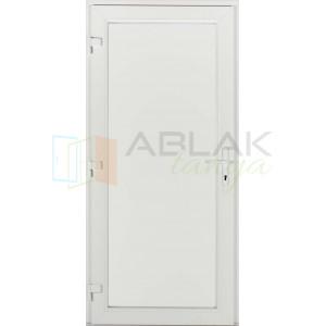 Tele műanyag bejárati ajtó - Egyszárnyú műanyag bejárati ajtó