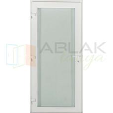Tele üveges műanyag bejárati ajtó