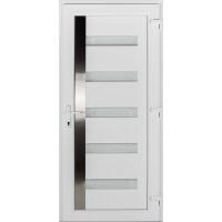 Texas műanyag bejárati ajtó fehér/fehér