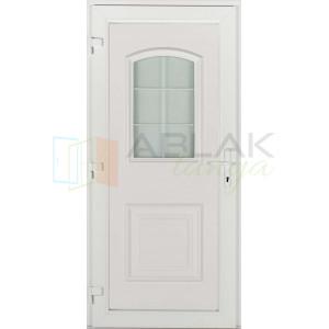 Tisza műanyag bejárati ajtó - Egyszárnyú műanyag bejárati ajtó