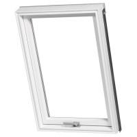 78×98 cm Rooflite PVC Solid tetőtéri műanyag ablak