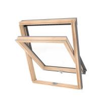 78x98 Optilight ECO fa tetőtéri ablak