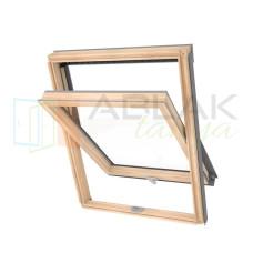 55x78 Optilight ECO fa tetőtéri ablak