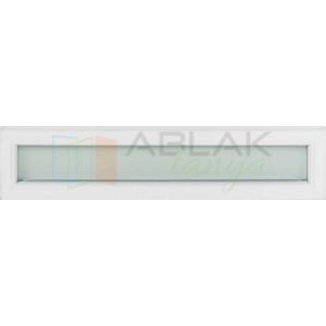 Fehér átlátszó üveges felülvilágító - Felül-Oldalvilágító